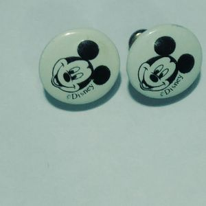 Micky mouse earings